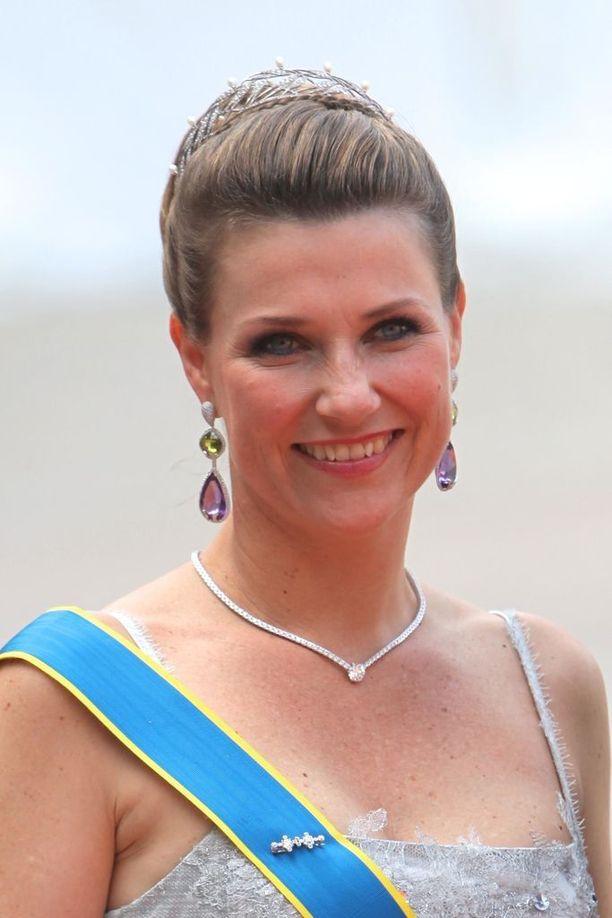 Haakonin pikkusisko prinsessa Märtha Louise