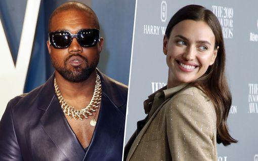 Kanye West ja huippumalli Irina Shayk erosivat