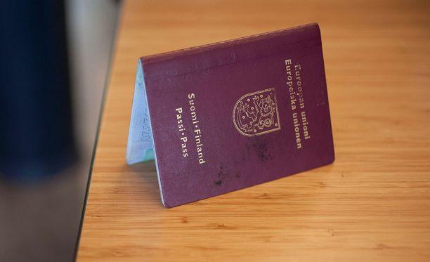 Tällaiset passit on nykyään käytössä.