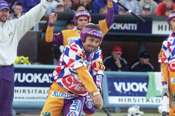 Janne Vuorinen on yksi kaikkien aikojen pesäpalloilijoista. Kuva vuodelta 2001.