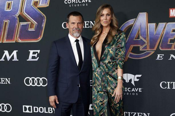 Josh Brolin yhdessä vaimonsa Kathryn Boydin kanssa Avengers: Endgame ensi-iltatilaisuudessa Los Angelesissa vuonna 2019.
