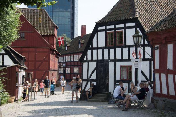 Ulkoilmamuseossa voi tutustua menneiden aikojen tanskalaiselämään.