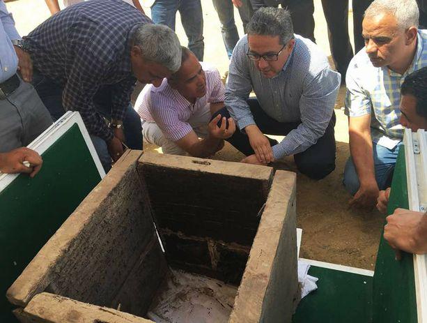 Nyt löytynyt hauta on noin 3 700 vuotta vanha.