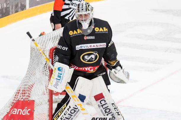 Justus Annunen on NHL-seura Colorado Avalanchen kolmannen kierroksen varaus.