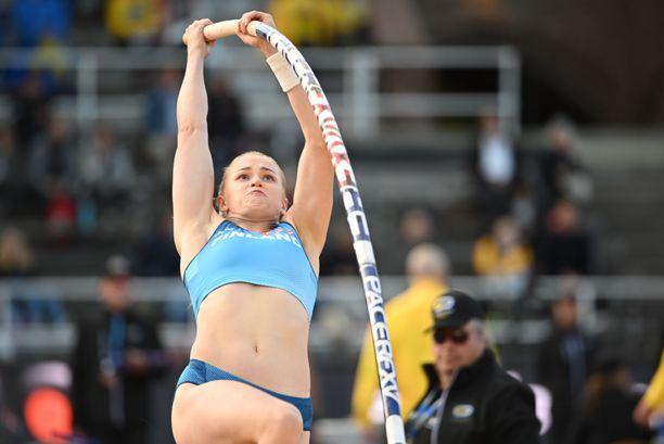 Wilma Murto jäi Ruotsi-ottelussa ilman tulosta.