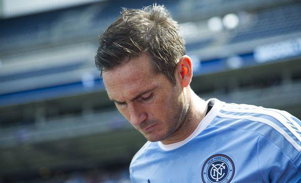 Frank Lampard pelasi viimeiset ottelunsa New York City FC:ssä.
