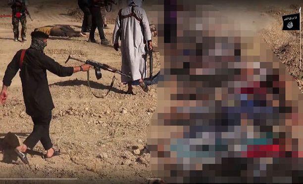 Isisin verisellä propagandavideolla esiintyy keskusrikospoliisin mukaan kaksi 23-vuotiasta irakilaisveljestä, jotka ovat tulleet Suomeen viime syyskuussa. Heitä epäillään 11 murhasta.
