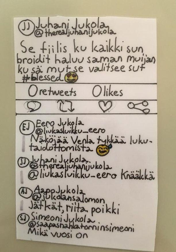 Juhanin Twitter