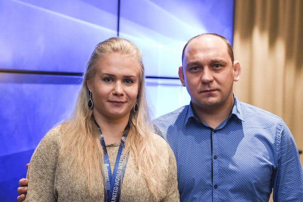 Petra Ollin ja Ahto Raskan pitkä yhteistyö tuotti kuusi arvomitalia.
