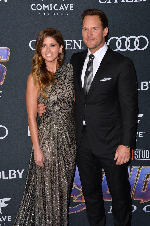 Katherine Schwarzenegger ja Chris Pratt eivät aikailleet, kun rakkaus iski.