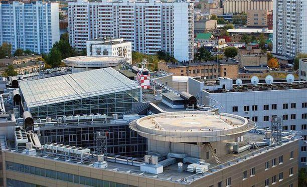 """Tällainen on Moskovan keskustassa sijaitseva Akvaario, GRU:n """"huippusalainen"""" päämaja."""