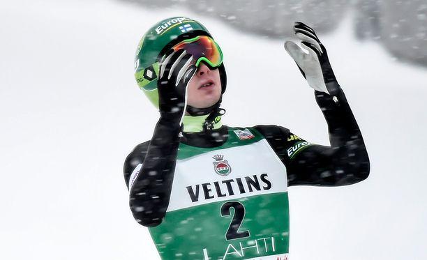 Matti Herola oli paras suomalainen Sapporossa.