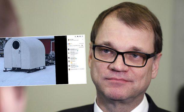 Kansanedustaja Juha Sipilä (kesk) on entinen Suomen pääministeri.