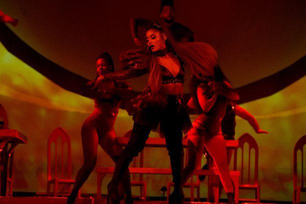 Ariana Granden kiertue pysähtyi myös Lontoossa elokuussa.