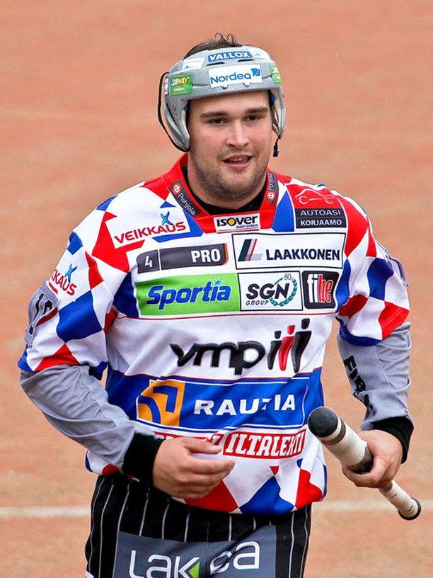 Jukka-Pekka Vainionpää ja muut JymyJussit joutuivat Ilmajoella luopumaan Etelä-Pohjanmaan herruudesta.