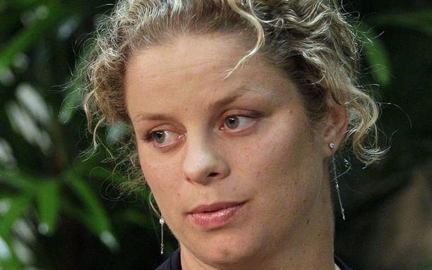 Kim Clijsters on maailmanlistalla toisena.