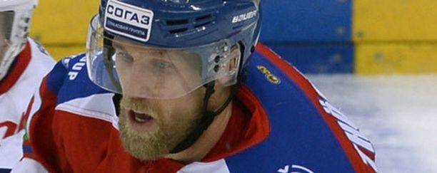 Martin Thörnbergiä ei nähdä ensi kaudella KHL:ssä.