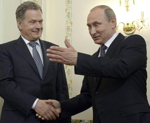 Sauli Niinistö ja Vladimir Putin tapasivat viimeksi viime kesänä Moskovassa.