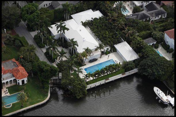 Epsteinin kartano Floridan Palm Beachissa.