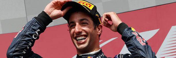 Daniel Ricciardo voitti Kanadan GP:n.