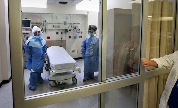 Ebolatartunnan saaneille on valmisteltu eristyshuoneita muun muassa New Yorkin Bellevue-sairaalassa.