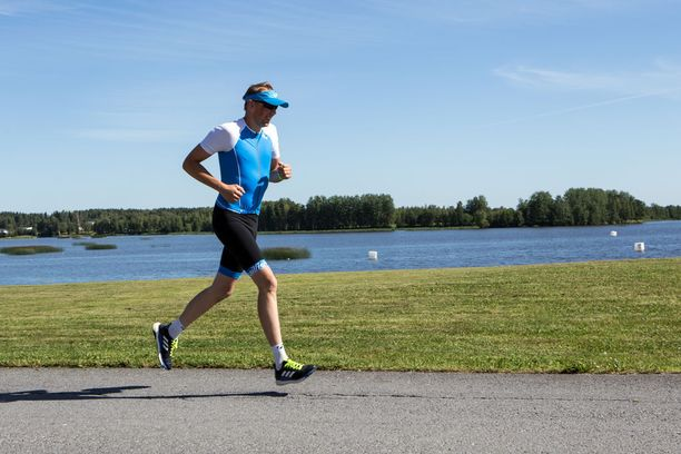 Tutuilla teillä juokseminen onnistuu Heikki Mäkelältä hyvin.
