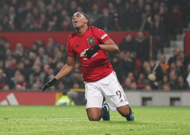 Anthony Martial ilme symbolisoi koko Manchester United -tuskaa.