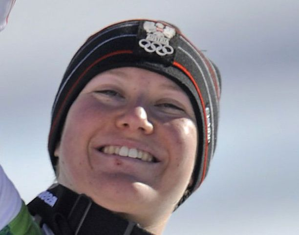 Andrea Fischbacher oli super-G:n taitavin.