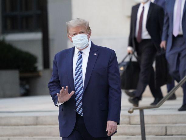 Donald Trump sairasti koronan vakavampana kuin aiemmin kerrottiin.