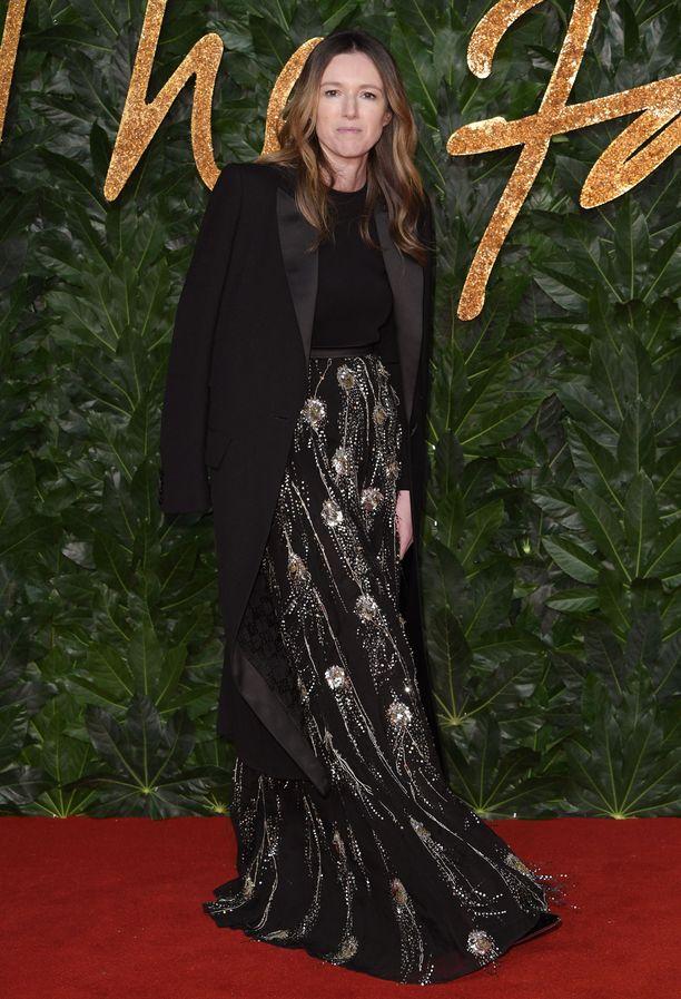 Clare Waight Keller palkittiin Vuoden brittiläisenä naistenvaatesuunnittelijana.