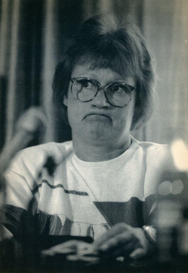 Neuvostoliiton lentokonekaappaukset vetivät oikeusministeri Halosen suun mutruun heinäkuussa 1990.