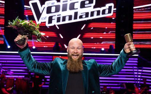 Juffi Seponpoika on The Voice of Finland -voittaja