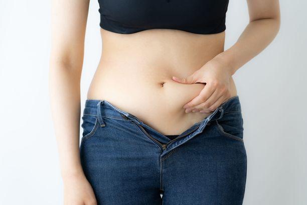 Vatsaonteloon kertynyt rasva ei välttämättä näy päälle.