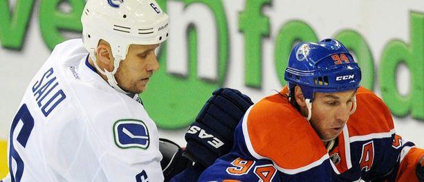 Sami Salo oli Edmontonin kauhu.