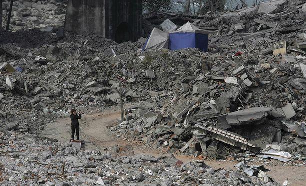 Vuoden 2008 maanjäristyksessä samalla seudulla kuoli tai katosi lähes 90 000 ihmistä.
