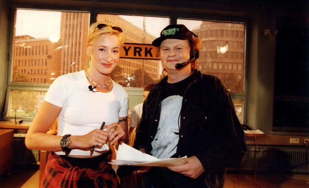 Katja Ståhl ja Pizza Pekkarinen muistetaan Jyrkin ruutukasvoina.