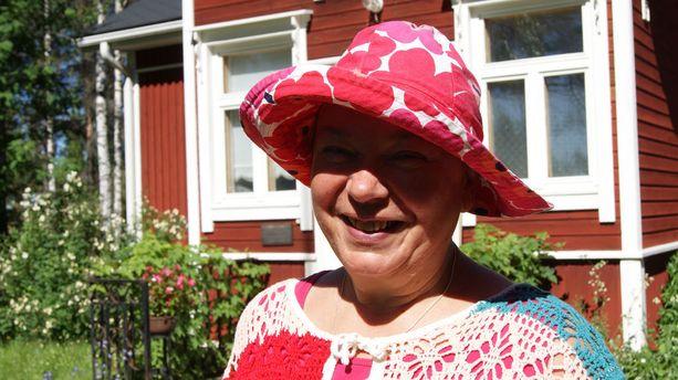 Helena Severinkankaan koti on jo vuosikymmeniä ollut Luusuassa.