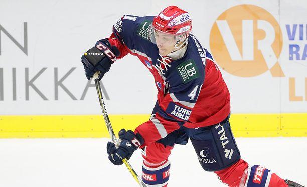 Miro Heiskanen on tällä hetkellä NHL:n testileirillä seurojen haastateltavana.