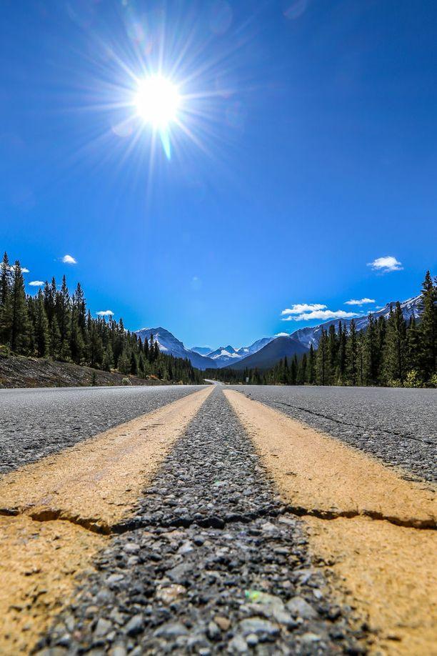 Elina Mälkiän hieno reissukuva road tripiltä Kanadasta.