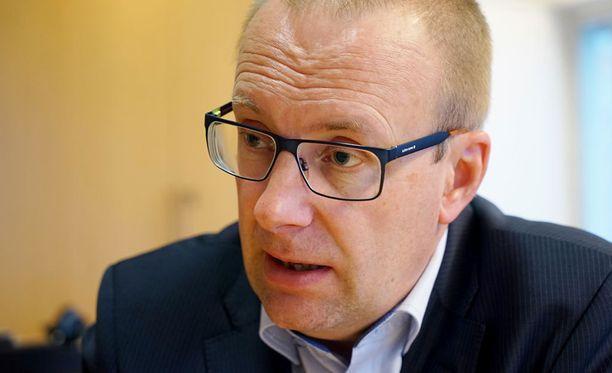 Jarkko Eloranta valittiin SAK:n puheenjohtajaksi kesäkuussa 2016.
