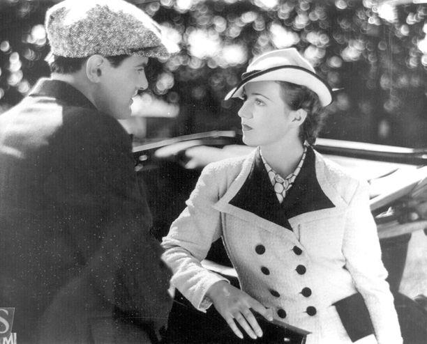 Valentin Vaalan elokuva Niskavuoren naiset vuodelta 1938. Tauno Palo ja Sirkka Sari.