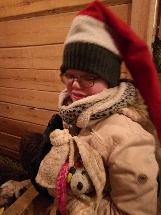 Joulu on aina ollut Axun lempijuhla.