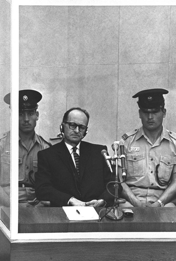 Eichmannin oikeudenkäynti Jerusalemissa kesti neljä kuukautta.