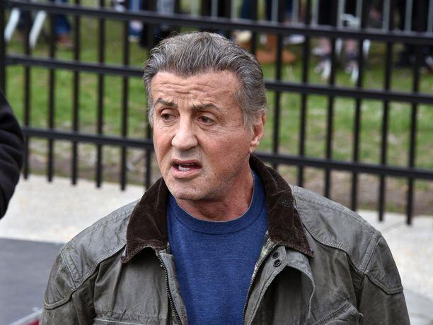 Sylvester Stallone vieraili aiemmin tässä kuussa Rocky-elokuvan maisemissa Philadelphiassa.