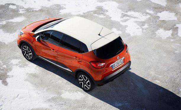 Renault Capturen saa nykytrendien mukaisesti kaksivärisenä.