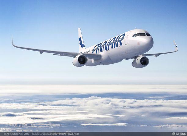 Peruttavien lentojen tiedot päivittyvät Finnairin nettisivulle.