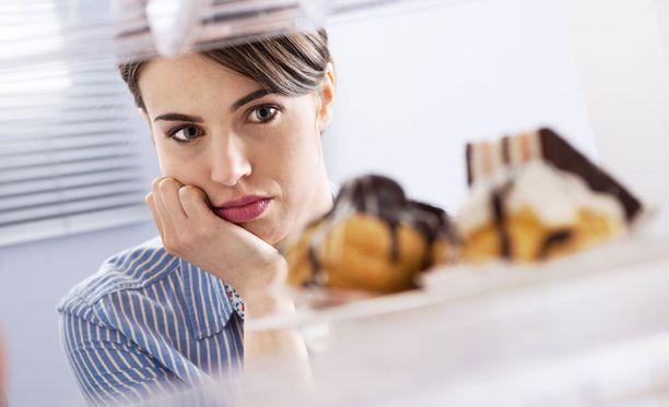 Tunnesyöminen ei ole vatsan nälkää.