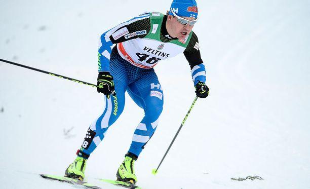 Sami Jauhojärvi kuuluu Suomen hiihtomaajoukkueeseen.