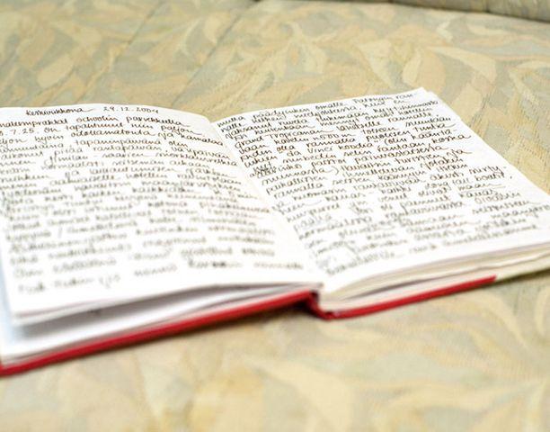 Soila piti matkallaan päiväkirjaa. Ensimmäiset rivit tsunamin jälkeen hän pystyi kirjoittamaan 29.12. Seuraavan merkinnän hän teki vasta 8.1.