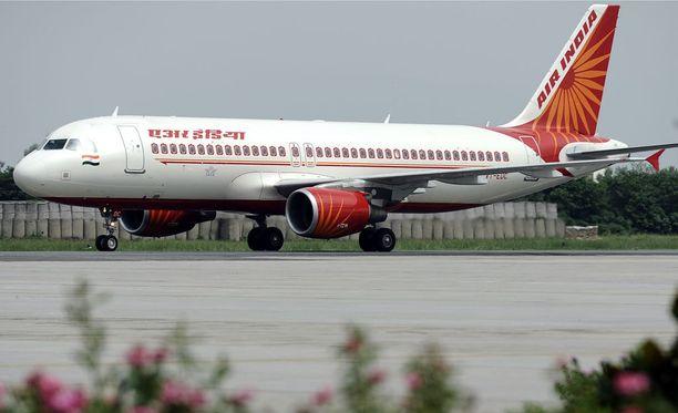 Välikohtaus tapahtui Airbus A320 -koneessa.